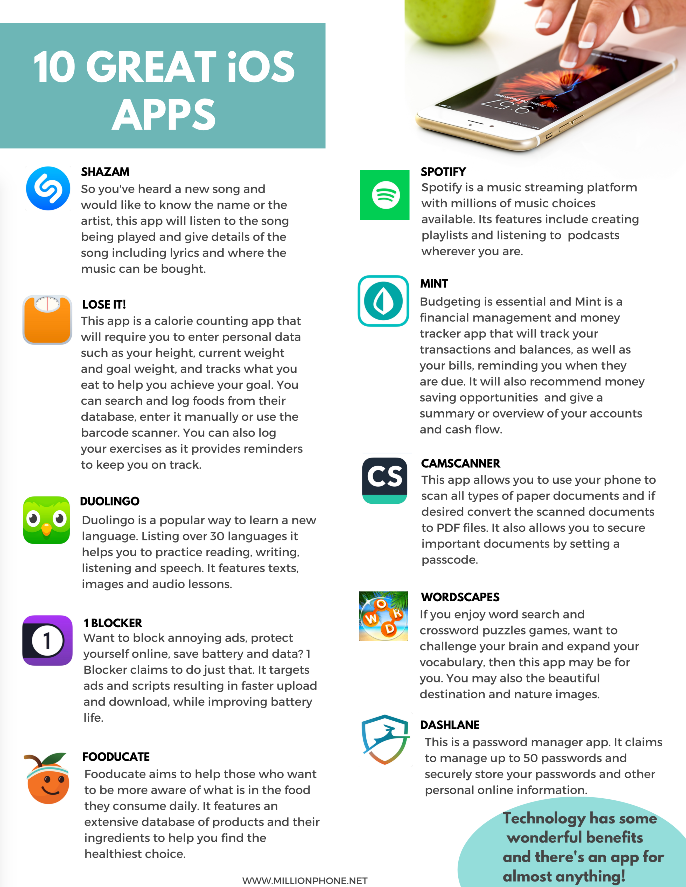 10 great iOS Apps